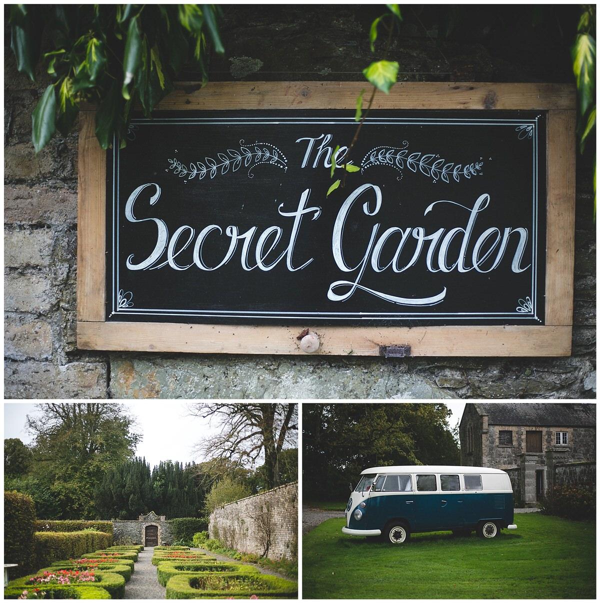 The secret garden at Martinstown House