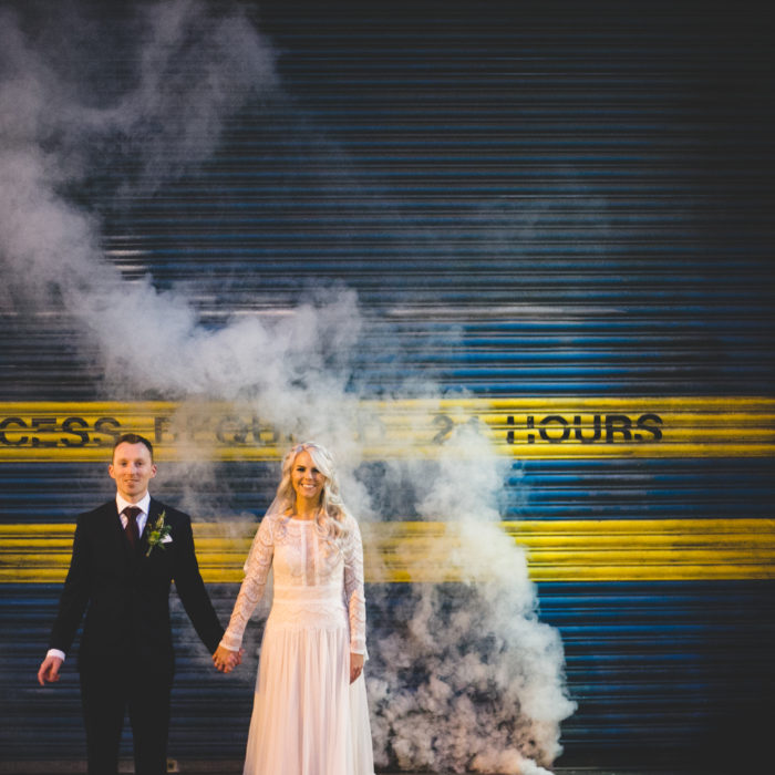 Amy & Tony's Hella Cool Dublin City Wedding