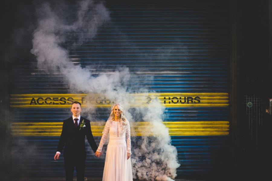 Amy & Tony's Hella Cool Dublin City Wedding
