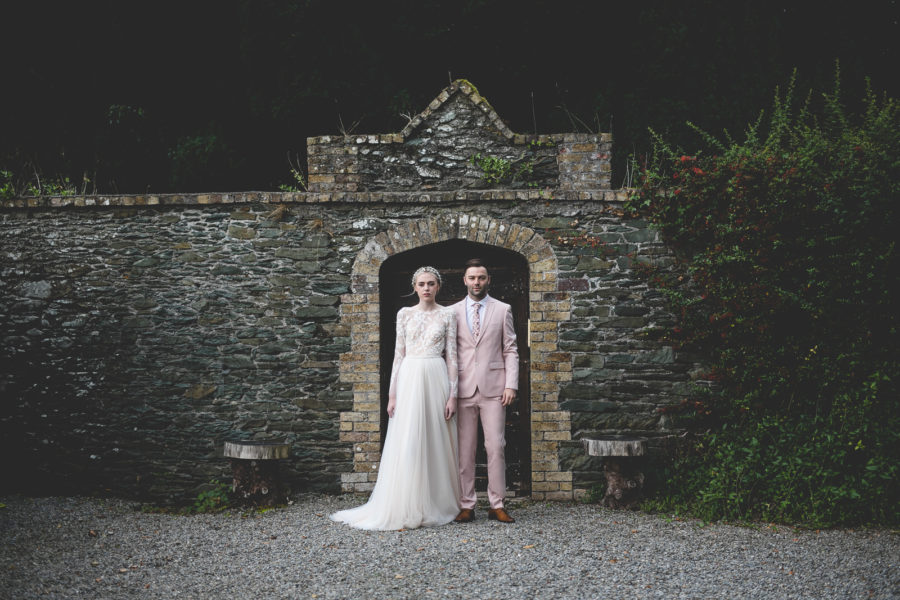 A Very Wes Anderson Wedding at Martinstown House