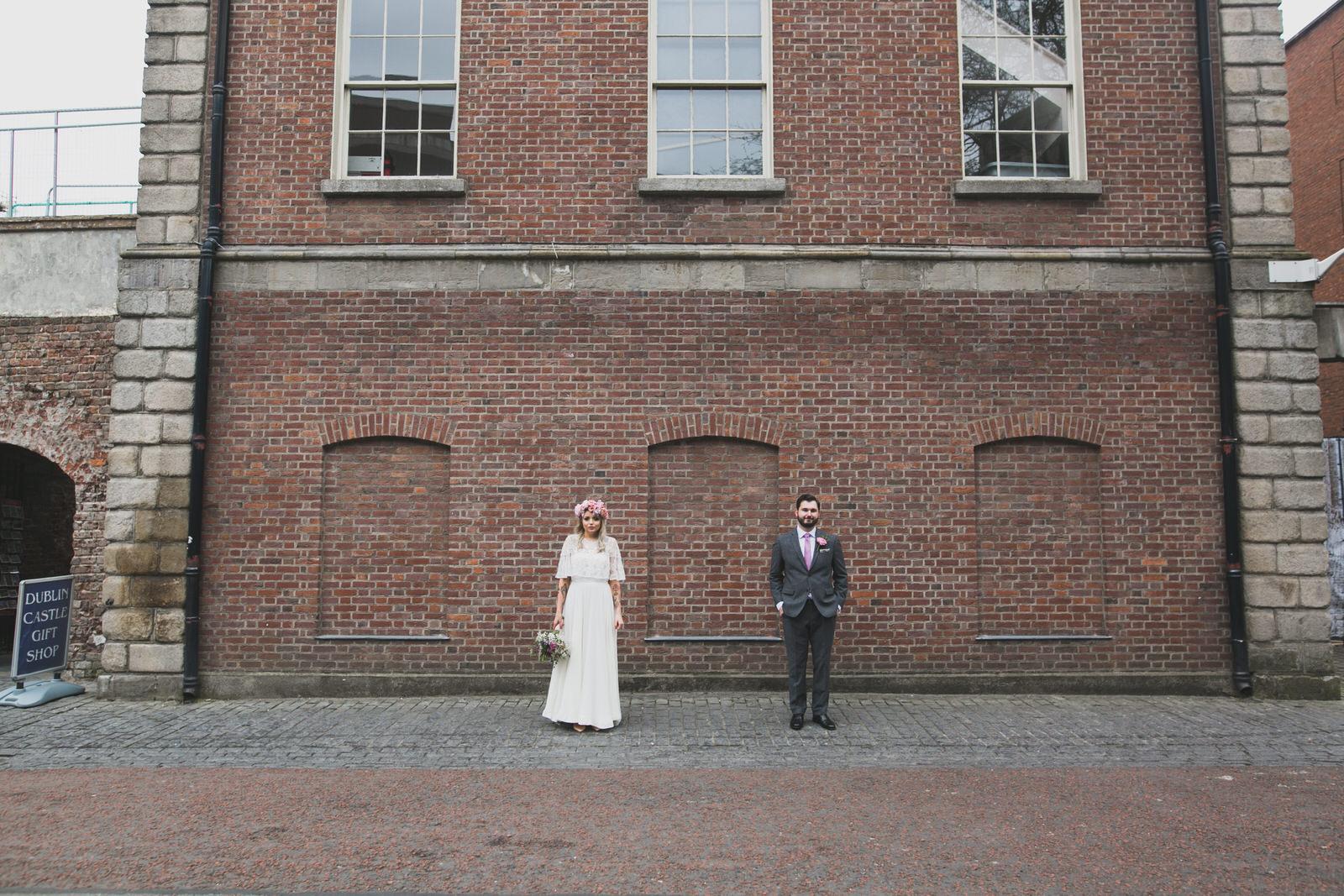 Dublin city castle portraits