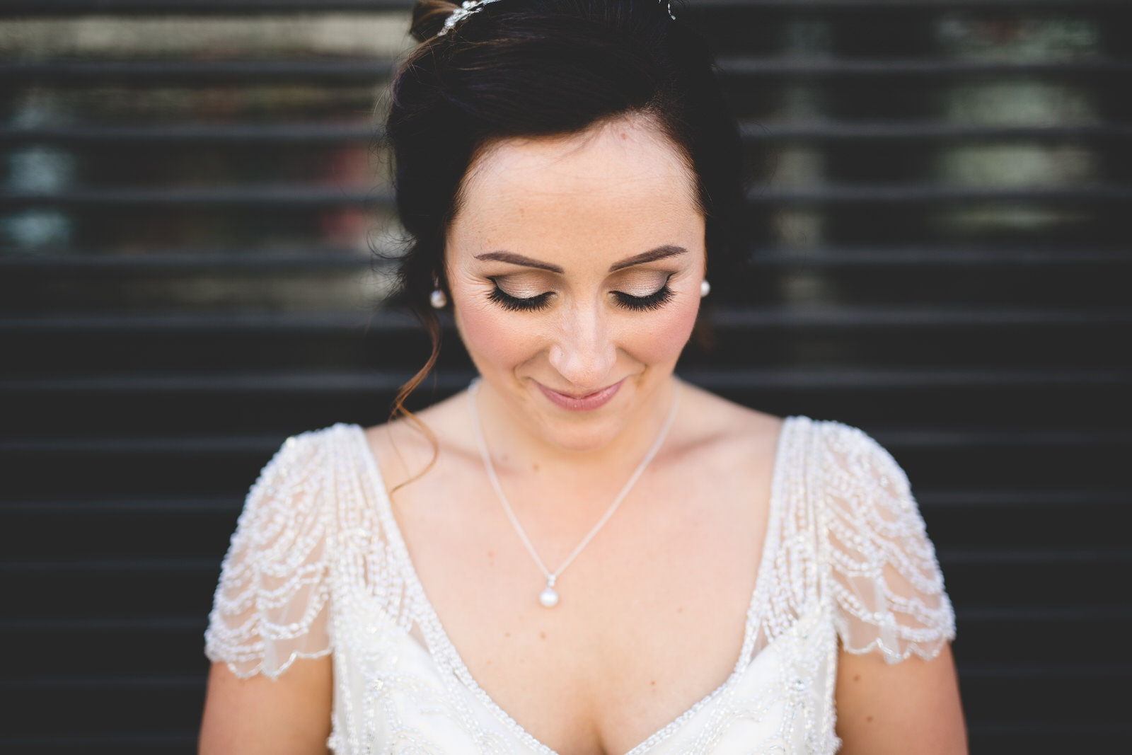 Bridal portrait by Wild things wed