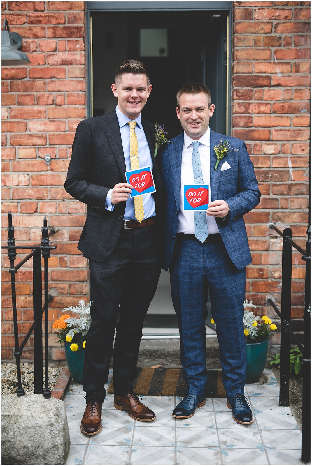 Do it for love - Groom & Groom portraits