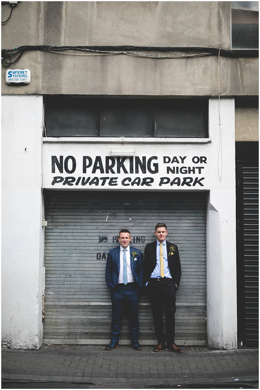 Drury Street 'No Parking day or night'