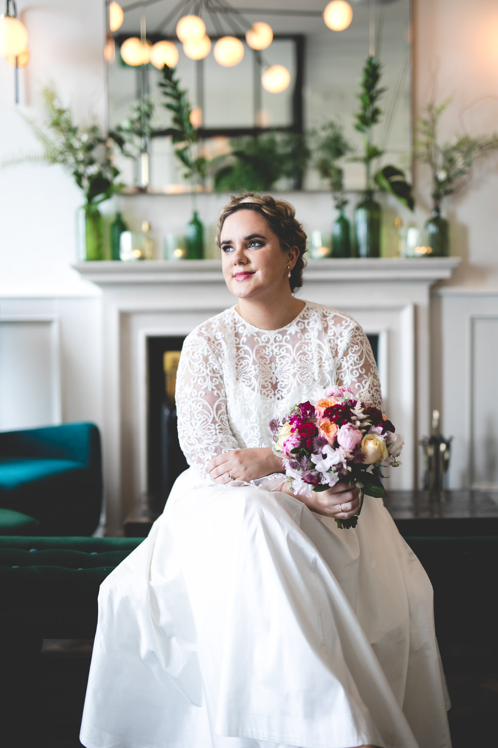 Wild things wed photography - Portrait of a stylish bride