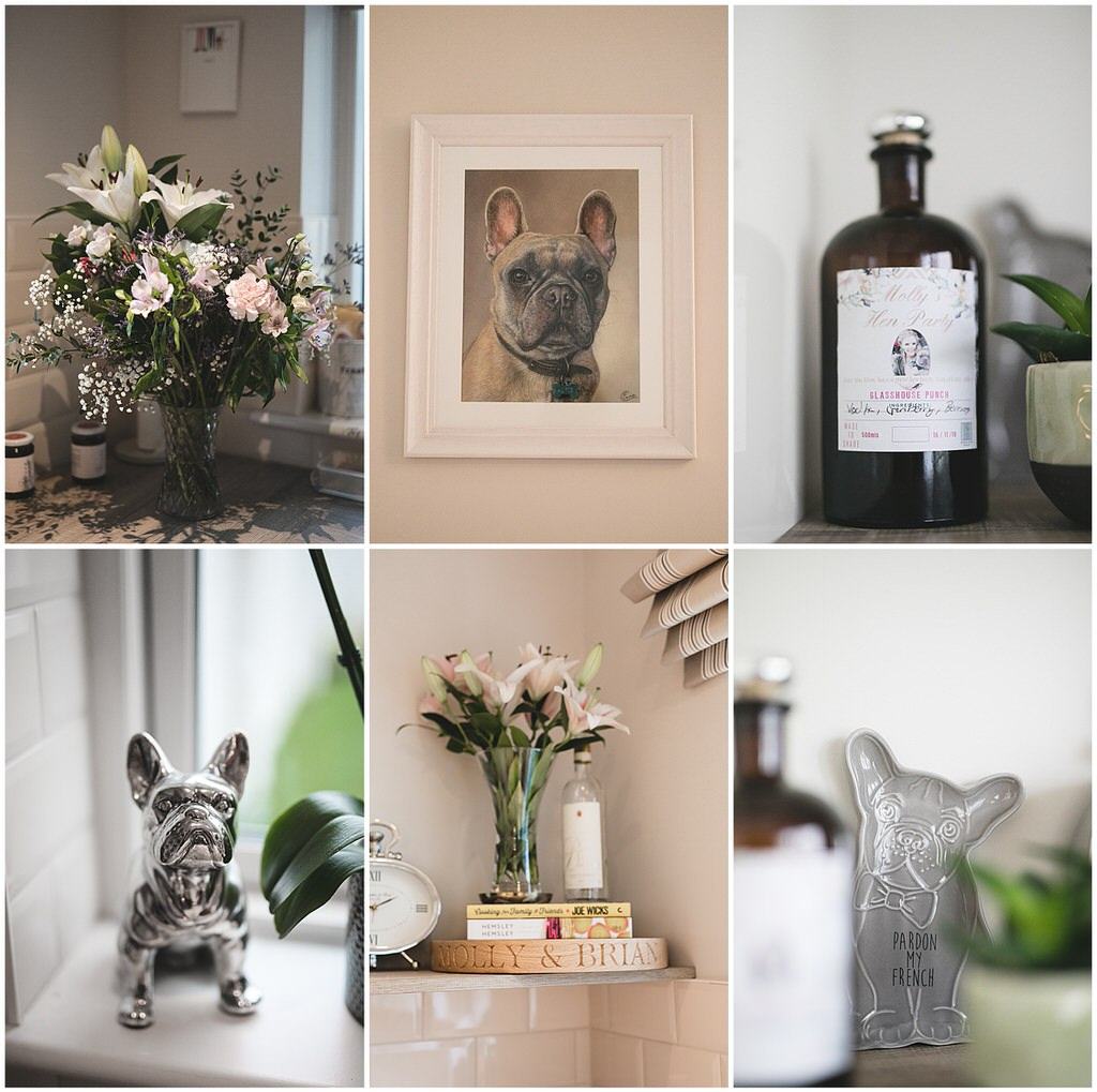 French Bulldog painting & cute homeware