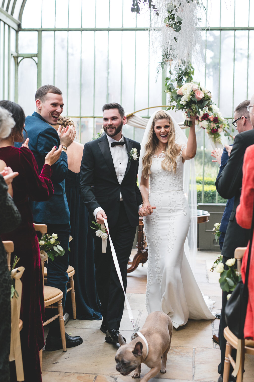Fairytale Winter Wedding at the Cliff at Lyons