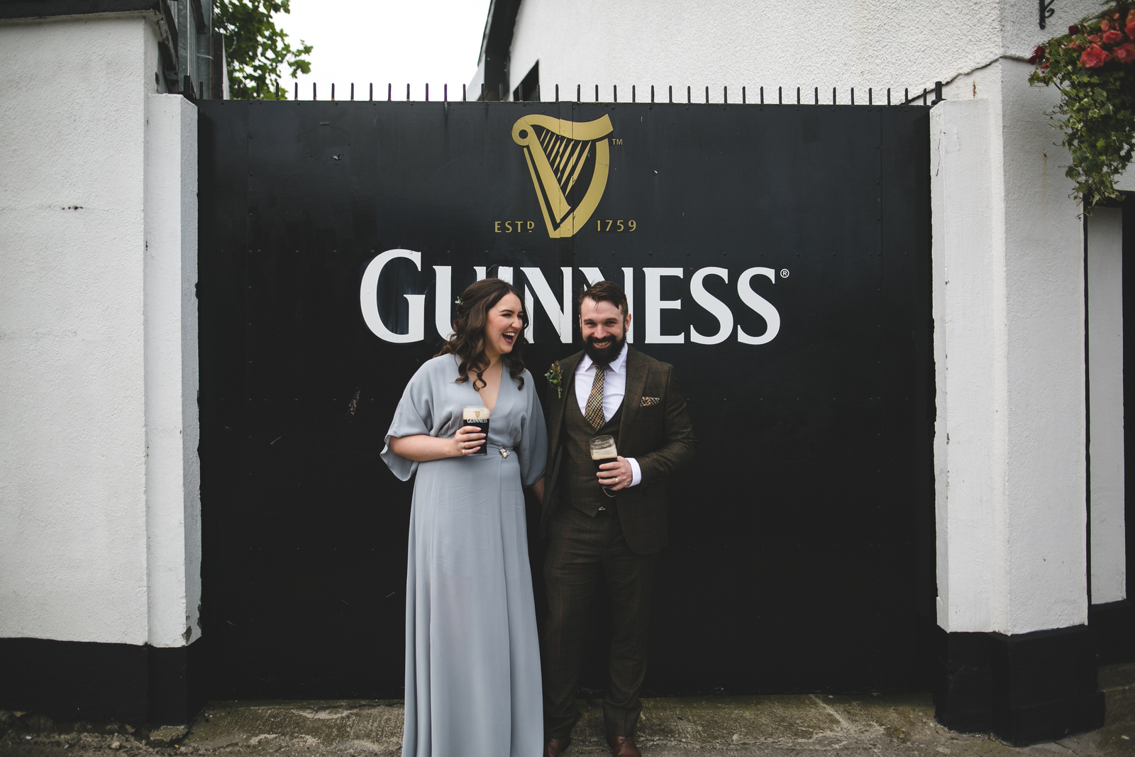 Covid Wedding at the Scholars Town House in Drogheda