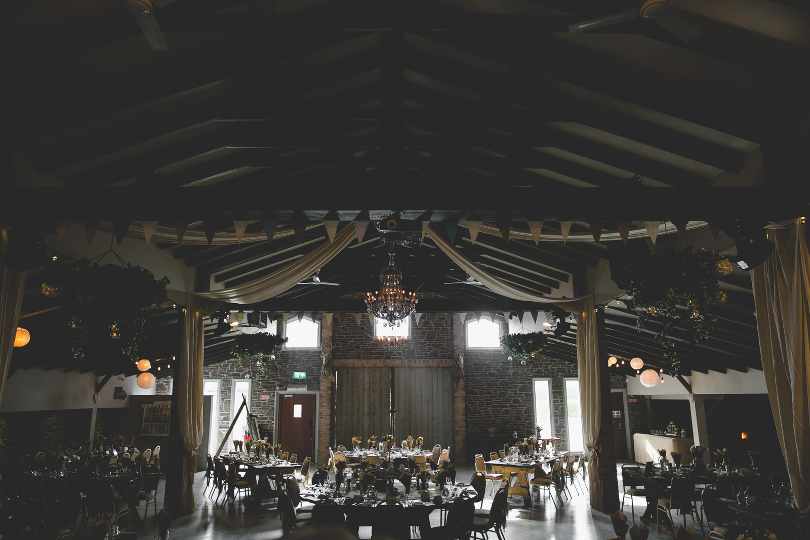 Epic dining room at Seagrave Barns wedding venue
